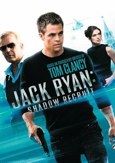 Jack Ryan: Shadow Recruit - Jack Ryan movies are amongst my favourite 'watch again and again' movies...and this latest one does not disappoint and in many ways excels from the others, perhaps because you've got a Jack Ryan at the beginning of his extraordinary adventures in the CIA...well directed by Ken Brannagh and well taken over by Chris Pine.