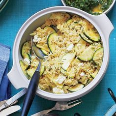 Whole-Wheat Orzo Salad with Broccoli-Pine Nut Pesto | Recipe | Orzo ...