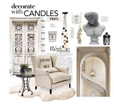 """Candles!"" by hellodollface ❤ liked on Polyvore featuring interior, interiors, interior design, home, home decor, interior decorating, Anja, WALL, &Tradition and Rodin"