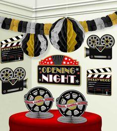 """Festa de Cinema ou Celebridade (onde cada um deve ir de celebridade - também na brincadeira, pode ser dado um """"troféu Oscar"""" para o que estiver melhor caracterizado)"""