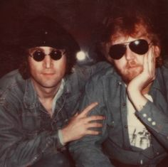 John Lennon & Harry Nilsson, It crushed Harry when John was killed. Number One Beatles Fan that became life long friends with John & Ringo