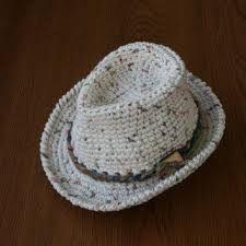 Resultado de imagem para fedora hat crochet pattern free Guantes Tejidos 97298c3366d