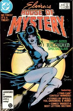 """Bewitching cover by Dave Stevens (""""The Rocketeer"""")! Host segment by Gene Colan (""""Tomb of Dracula"""") and Dick Giordano (""""Batman"""")! But that's not all: Buy this issue, get free a story written by the Bierbaums (""""LSH"""" fans turned pros) and drawn by Dan Spiegle (in the business since Tom and Mary were fans)."""