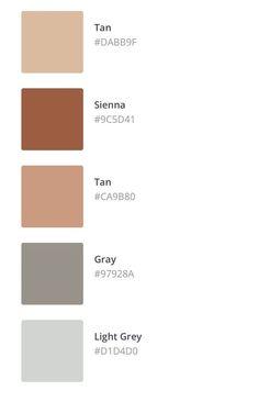 Colour Pallette, Colour Schemes, Color Combos, Color Trends, Colour Combinations Interior, Flat Color Palette, Nature Color Palette, Neutral Palette, Pantone Colour Palettes