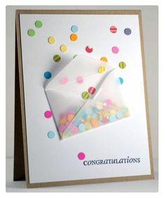 Fizzing Envelope Confetti Cards Ideas Diy Birthday Happy