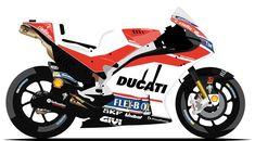 DUCATI TEAM   #04 - Andrea Dovizioso ( ITA )   #99 - Jorge Lorenzo ( ESP )