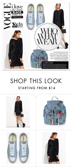 """""""Sheinside Contest"""" by barcelona-man ❤ liked on Polyvore featuring Topshop, Essie and Who What Wear"""
