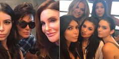 "Looks like it was quite the family affair! The entire Kardashian and Jenner crew all came together to celebrate Kylie Jenner's 18th birthday with an exquisite dinner at Nobu Restaurant in Malibu, California. Kris and Caitlyn Jenner posed in their first photo together (l.) with expecting mom Kim Kardashian as she appropriately captioned the photo ""the parent trap,"" on Aug. 8, 2015. Kim also snapped a series of selfies (of course) with her four sisters adding the caption ""happy birthday Ky…"