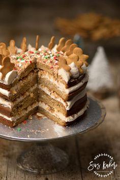 Pepperkake-kake til jul