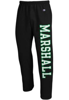Product: Marshall University Open Bottom Sweatpants