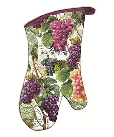 Take a look at this Vineyard Oven Mitt by Michel Design Works on #zulily today!