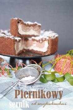 SMYKWKUCHNI: Sernik czekoladowo -piernikowy