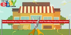 How Essential Are Your eBay Listing Page And The eBay Product Description? Ebay Listing, Essentials, Product Description