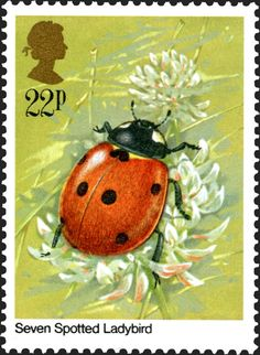 Royal Mail Special Stamps | Seven Spotted Ladybird
