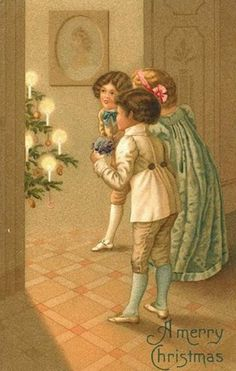 Sweetly Scrapped: Merry Christmas Vintage Image and a few extras...