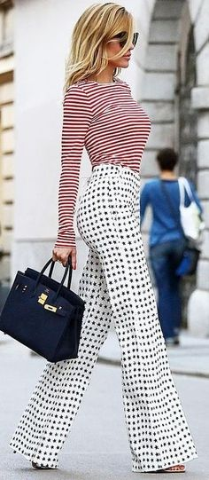 #spring #summer #fashion #outfitideas Stripes + Stars