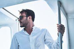 #sea#men#white#style#menstyle#fashion#life#model