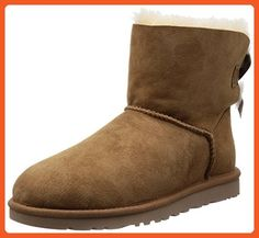 UGG Australia Women's Mini Bailey Bow Boot Chestnut Size 5 - Boots for women (*Amazon Partner-Link)