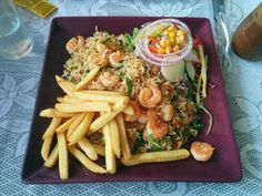 Rice with shrimp - a traditional dish in COsta Rica you must try