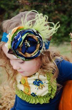 Baby Headbands-Fall Headbands-Persnickety por AvryCoutureCreations