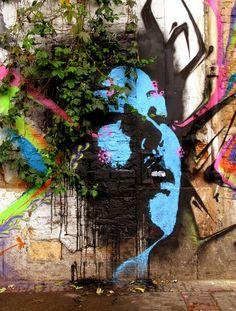 Bogota colombia. artist STINKFISH