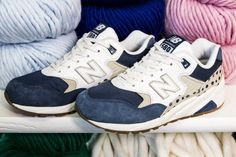 Sneakers femme - New Balance 580 Wool & the Gang