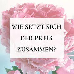 Wie setzt sich der Preis zusammen? . Auf den ersten Blick kann man denken, dass Grosse Blumen teuer sind.💸 . Ja, die sind nicht billig.… Instagram, Big Flowers, Most Expensive, Decorations