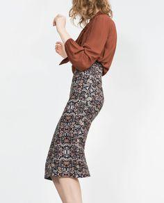 Image 4 of TUBE SKIRT from Zara