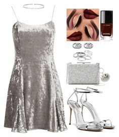 """Untitled #2771"" by mrkr-lawson on Polyvore featuring Vince Camuto, Kendra Scott, Gucci, New Directions, Suzanne Kalan and Chanel"