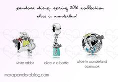Pandora Disney Spring 2016 preview: Alice in Wonderland! ❤