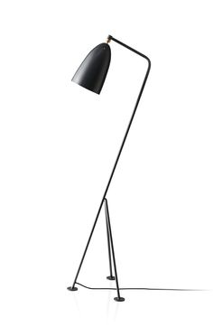 Greta Grossman's (1906-1999)  iconic Gräshoppa floor lamp designed in 1947.