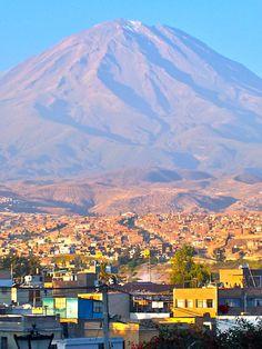 Arequipa, Peru.  © Aurélie Le Lièvre