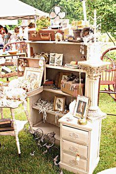 *Flea market treasures