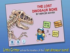 Discount: The Lost Dinosaur Bone - Little Critter is now 0.99$ (was 1.99$). More discounts: http://www.appysmarts.com/discounts.php