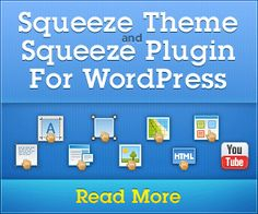 Squeeze Theme and Squeeze Plugin For WordPress http://viralclassified.co/ads/first-squeeze-page-plugin-for-wordpress/ MarketingPlugin is the world's first fully drag-and-drop WordPress plugin for creating stunning squeeze pages, sales pages and landing pages in real time. Forget about shortcodes, html codes, widgets and big settings pages, start creating pages immediately after MarketerPlugin installation! Price : $97 #wordpress #plugin