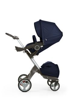 How deep is your love? Stokke Xplory in all-new Deep Blue textile