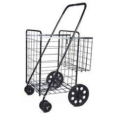 Folding Shopping Cart : $21.29 + Free S/H