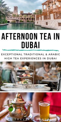 Enjoy an exquisite afternoon tea experience in one of Dubai's most exclusive locations. Top restaurant picks from across the city for the most amazing and unique afternoon tea experiences in Dubai - traditional English style High Tea & Arabic sensations Dubai Vacation, Dubai Trip, Maldives Vacation, Vacation Food, Dubai Shopping, Dubai Hotel, Dubai City, Dubai Travel Guide, Travel Tips