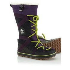 Glacey Explorer water proof suede and canvas boot