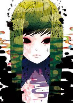 Cute Illustrations by Kazuko Taniguchi | Cuded