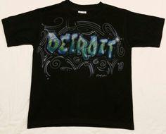 Detroit Airbrush T-shirt