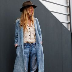 """Dusty Blue Denims, Florence"""