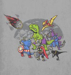 Dino-Avengers