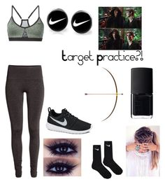 """""""Untitled #352"""" by oliviamarvel on Polyvore featuring NIKE, H&M and NARS Cosmetics"""