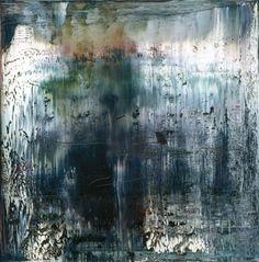 """Gerhard Richter, 1990""""Tableau abstrait"""" 1990. 200 cm x 200 cm.Huile sur toile"""