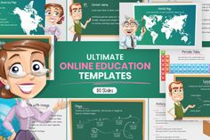 Ultimate Online Education Presentation Template   GraphicMama Infographic Creator, Infographic Templates, Great Presentations, Business Powerpoint Presentation, Education Templates, Outline Illustration, History Images, Online Lessons, School Themes