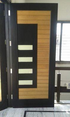 Modern Wooden Door Designs For Your Home - Main Entrance Door Design, Wooden Front Door Design, Door Gate Design, Wooden Front Doors, Pooja Room Door Design, Door Design Interior, Interior Doors, Latest Door Designs, Flush Door Design