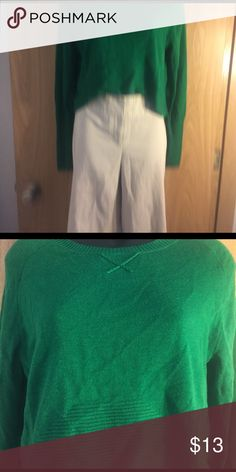 Sweater Back is longer than front. Great condition.  Yoon Yoon Sweaters