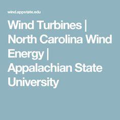 Wind Turbines | North Carolina Wind Energy | Appalachian State University