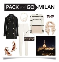 """""""Pack and Go: Milan"""" by margaretebooth ❤ liked on Polyvore featuring Valentino, RED Valentino, Roland Mouret, Dorothy Perkins, Mulberry, STELLA McCARTNEY, women's clothing, women, female and woman"""